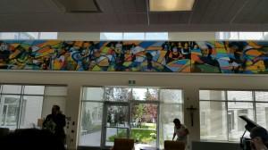 The Rewucki Great Room - Providence Mural