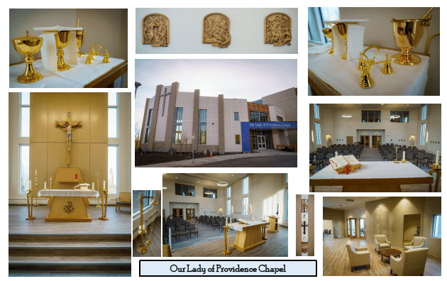 Dedication of Our Lady of Providence Chapel in Calgary