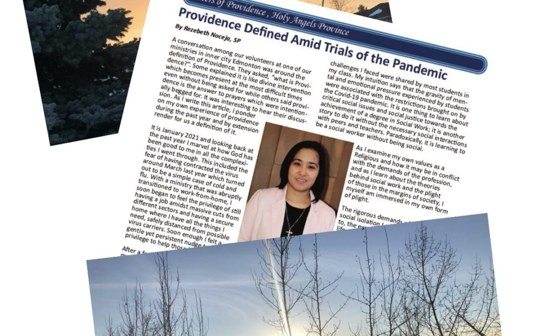 Providence Defined Amid Trials of the Pandemic